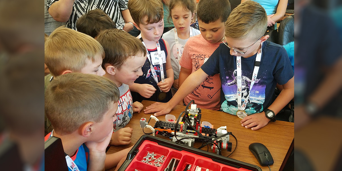 FIRST LEGO Explore Camp