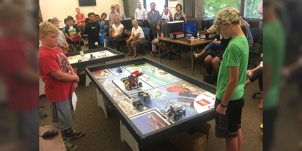 FIRST LEGO League EXPLORE Robotics Camp