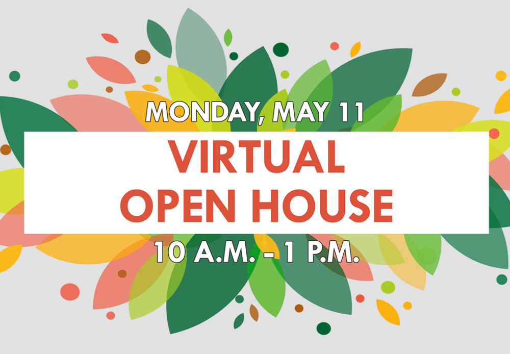 MVCC Virtual Open House on May 11!
