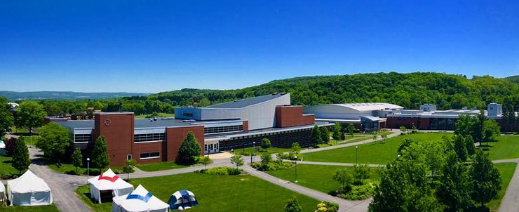 MVCC campus arial view