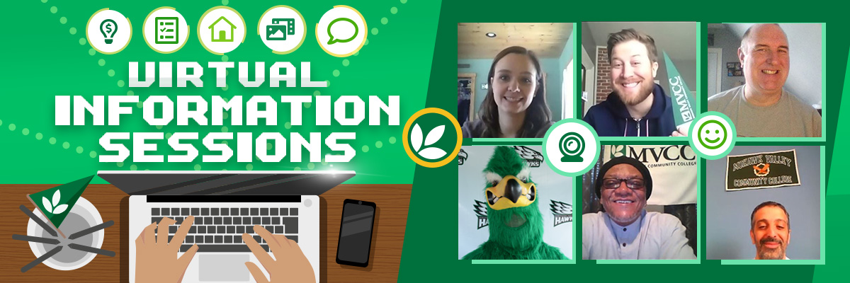 Virtual Information Session with MVCC Admissions Counselors