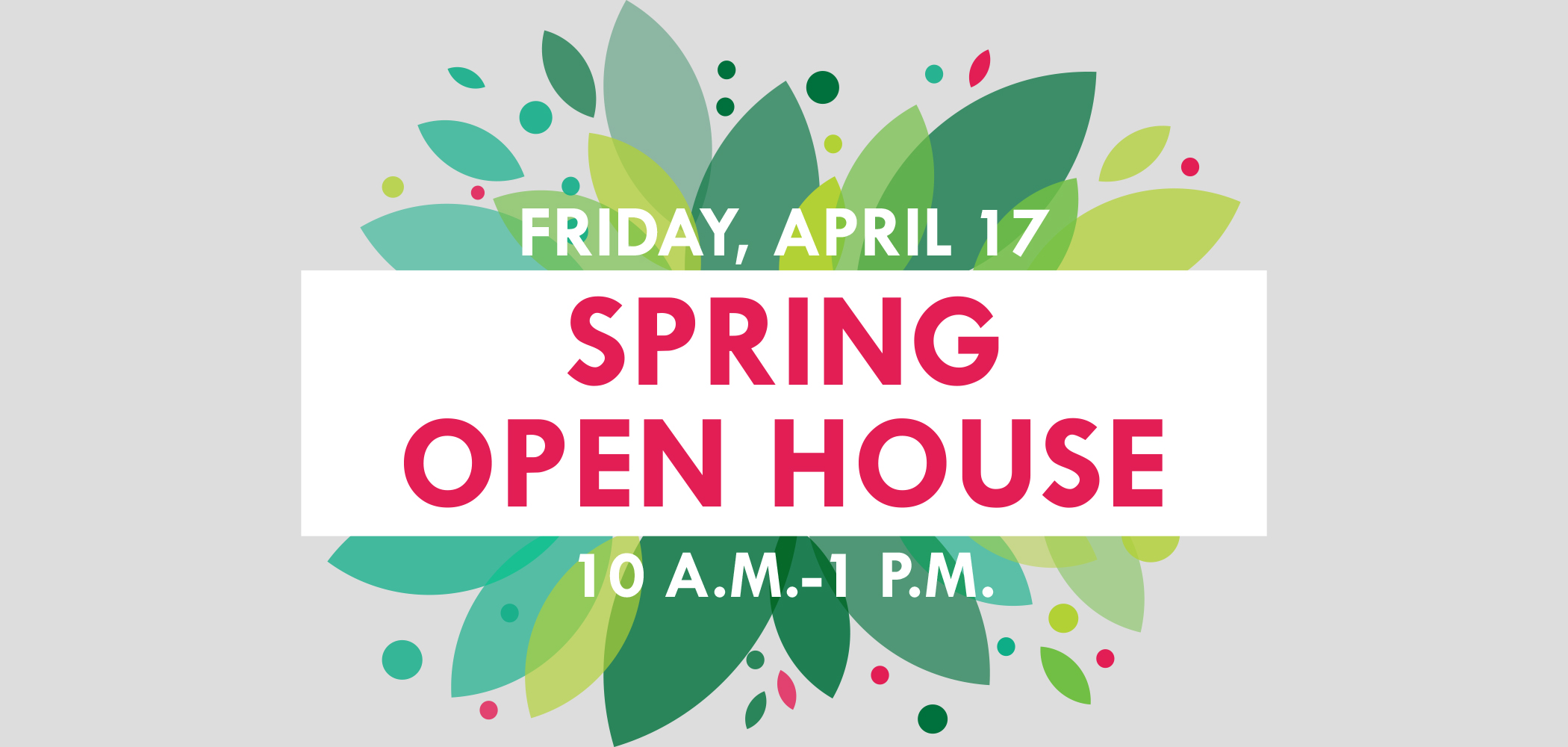Spring Open House cover image