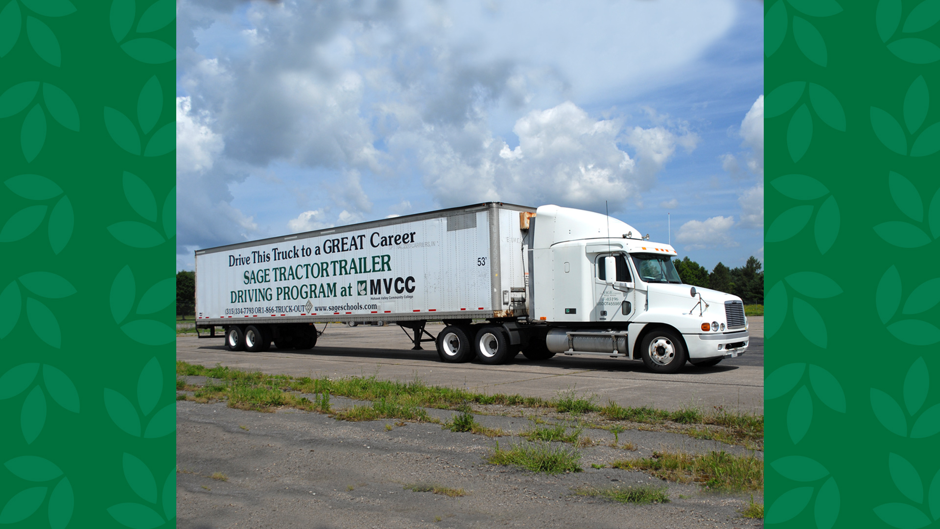 Sage Tractor Trailer Driving Program