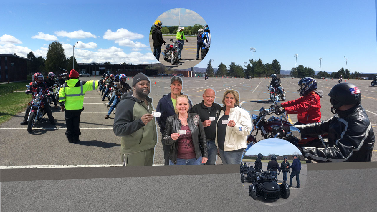 Learn to Ride at MVCC. Central New York's headquarters for award-winning motorcycle rider training. The ride starts here!