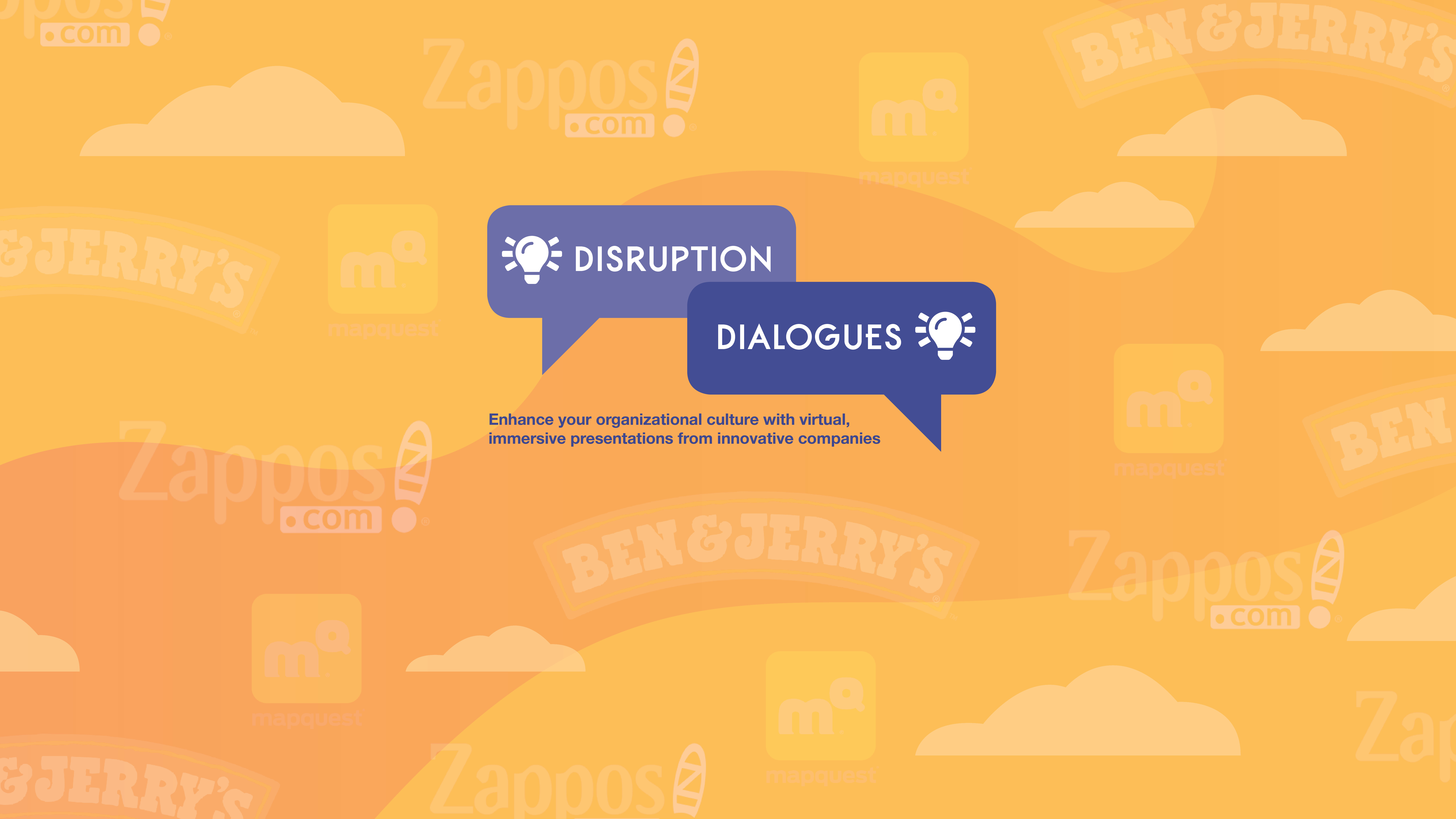 Disruption Dialogues upcoming events