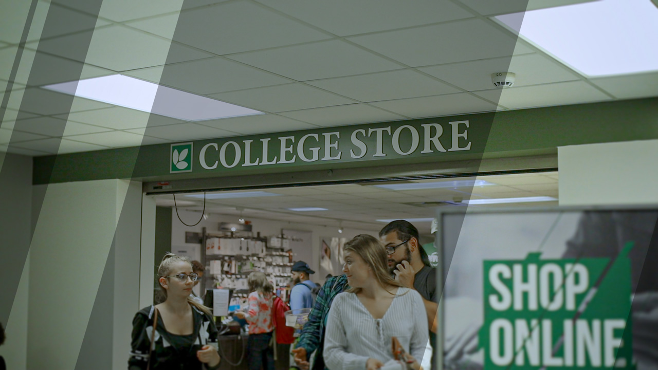 Visit Bookstore on Campus or Online!