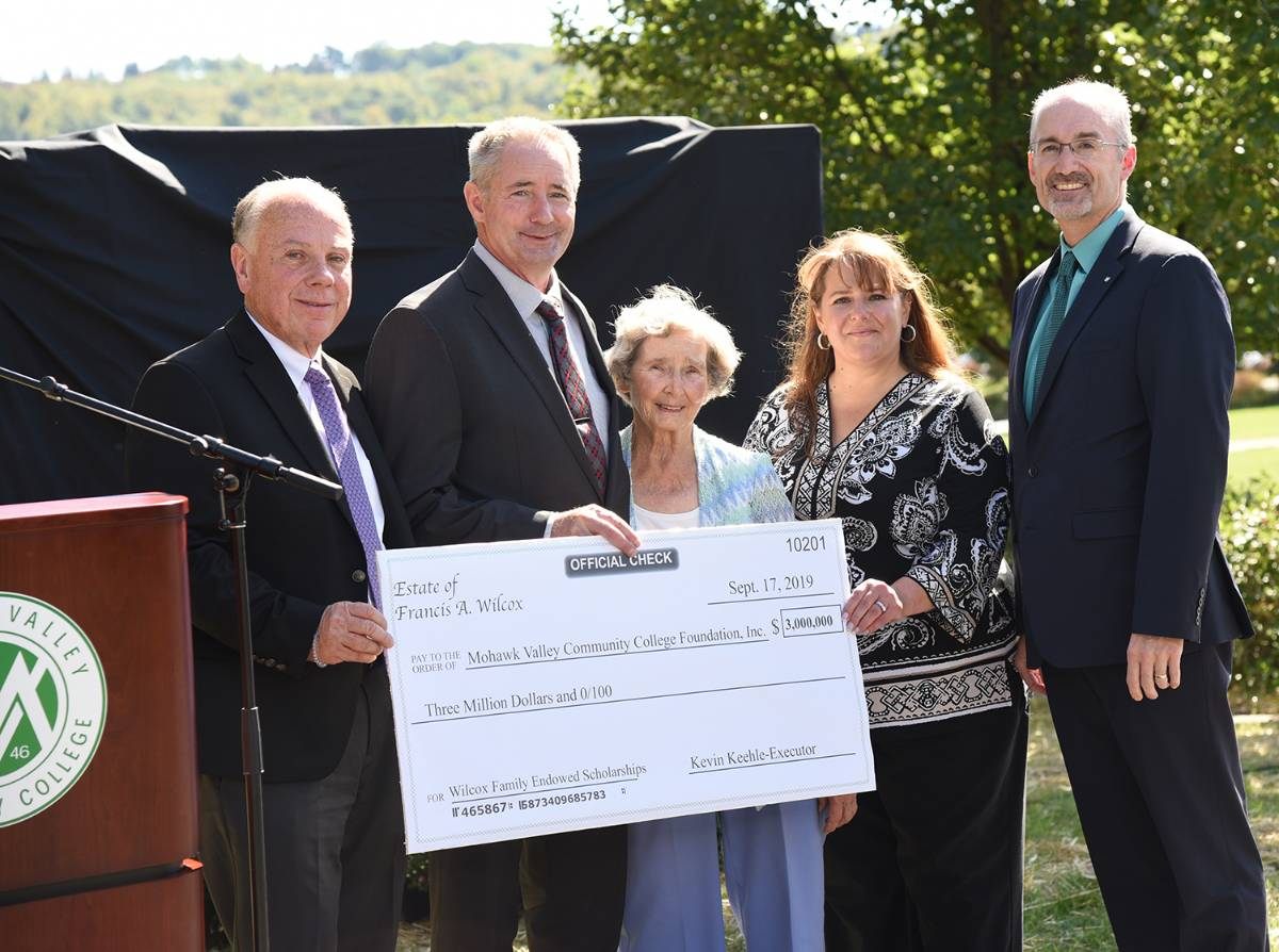 Wilcox donation of $3 million